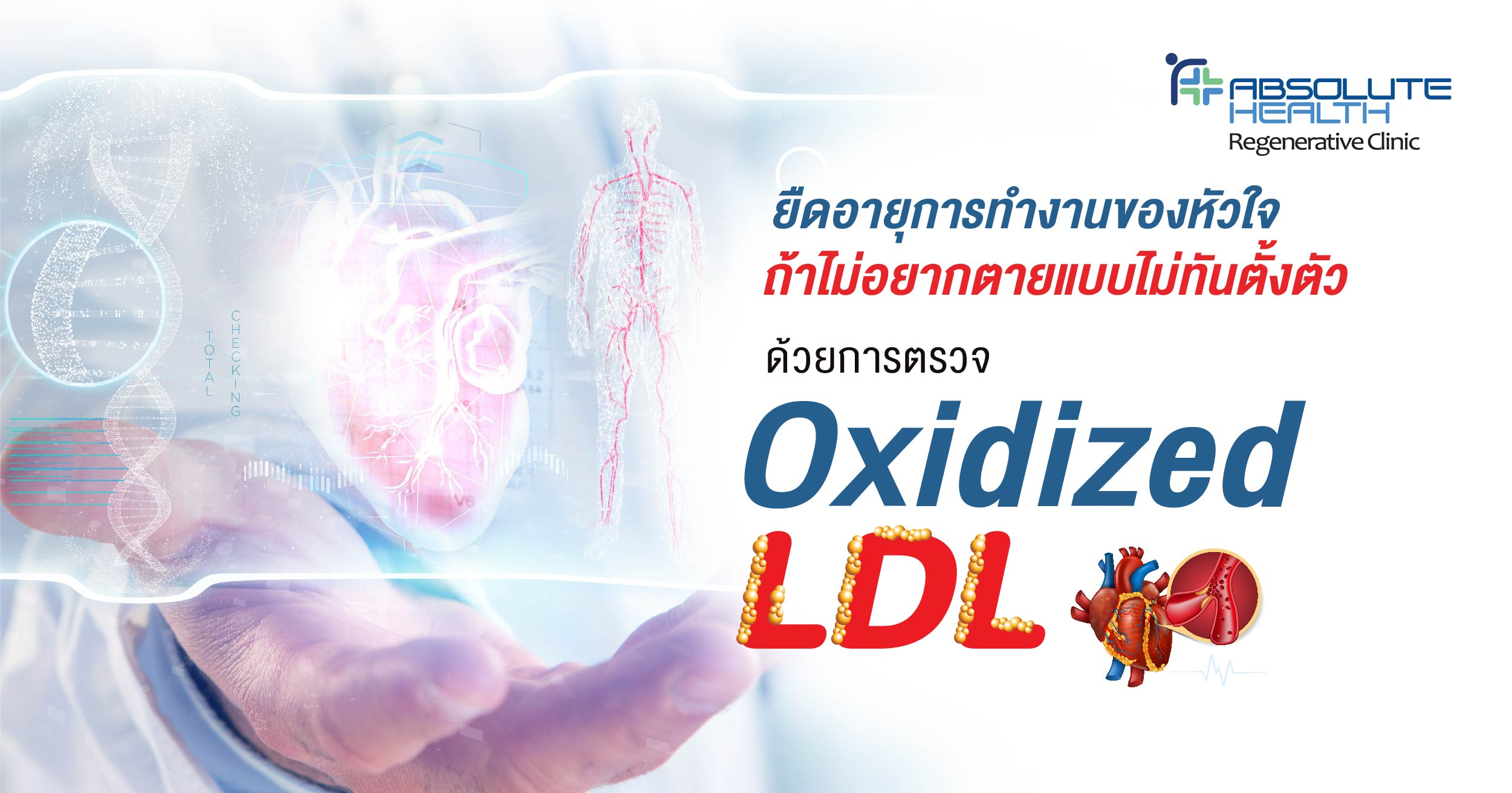 Oxidized LDL test – Prolonging the lifespan of the heart and avoid sudden death